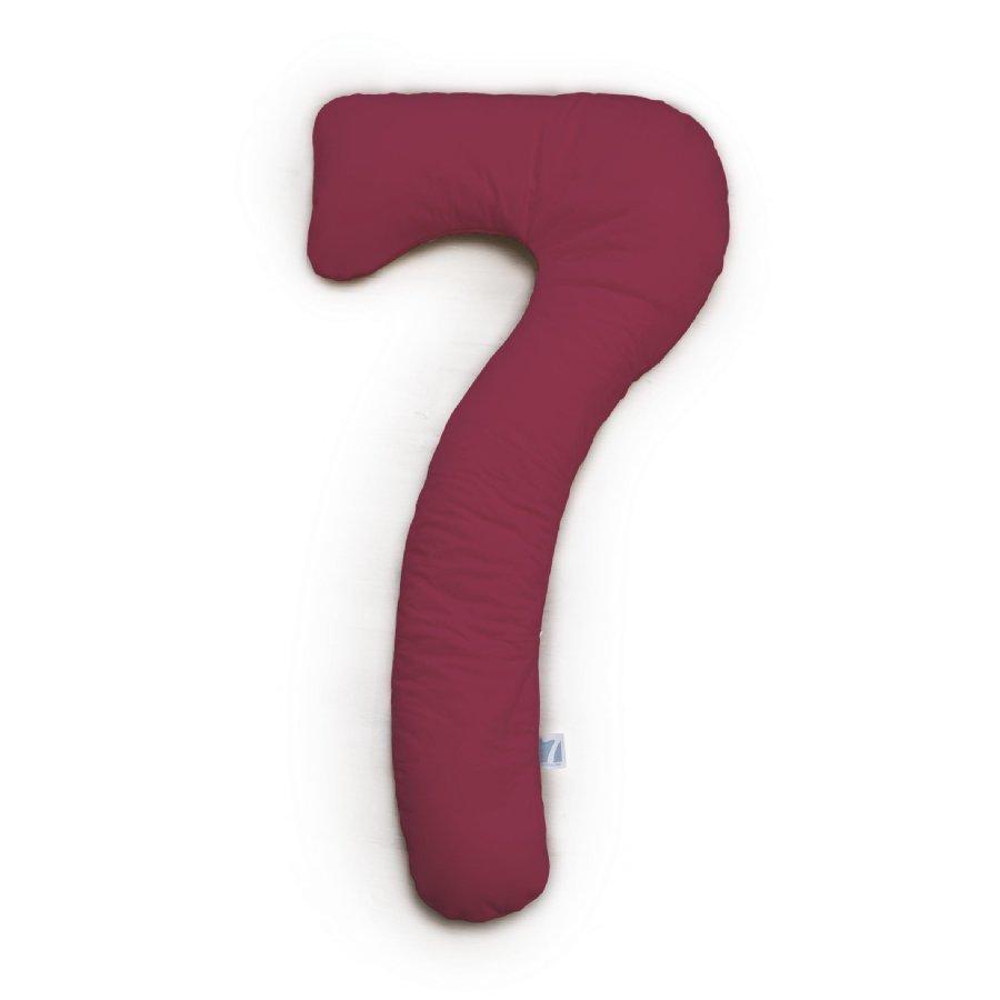 Theraline Tyynynpäällinen My7 Kyljellänukkumistyynylle Jersey Viininpunainen