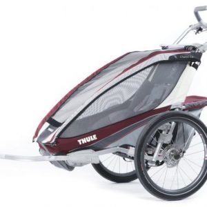 Thule Multirattaat Chariot CX1 Burgundy