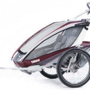Thule Multirattaat kahdelle lapselle Chariot CX2 Burgundy