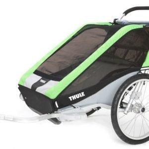 Thule Multirattaat kahdelle lapselle Chariot/Cheetah 2 Green