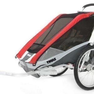 Thule Multirattaat kahdelle lapselle Chariot/Cougar 2 Red