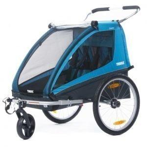 Thule Pyöräily- ja lastenvaunu Coaster XT Blue