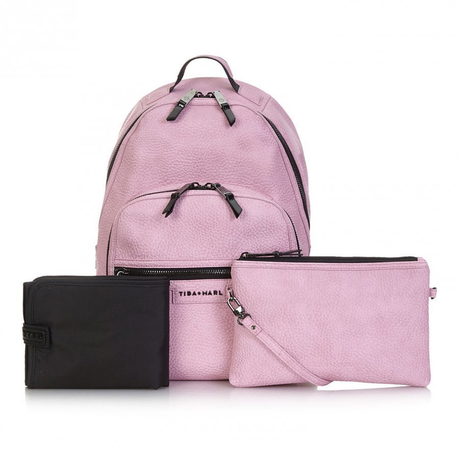 Tiba + Marl Elwood Backpack Light Pink Hoitolaukku
