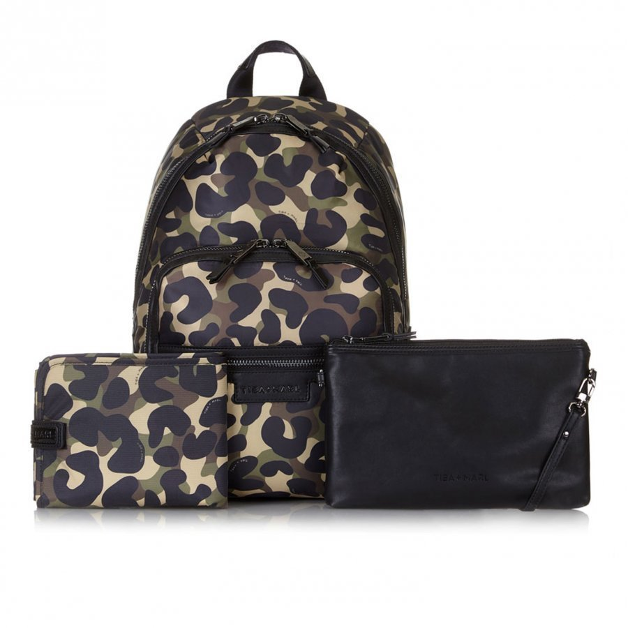 Tiba + Marl Elwoood Backpack Camo Hoitolaukku