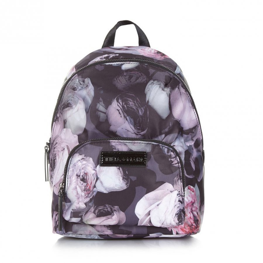 Tiba + Marl Mini Elwood Kids Backpack Goth Floral Hoitolaukku