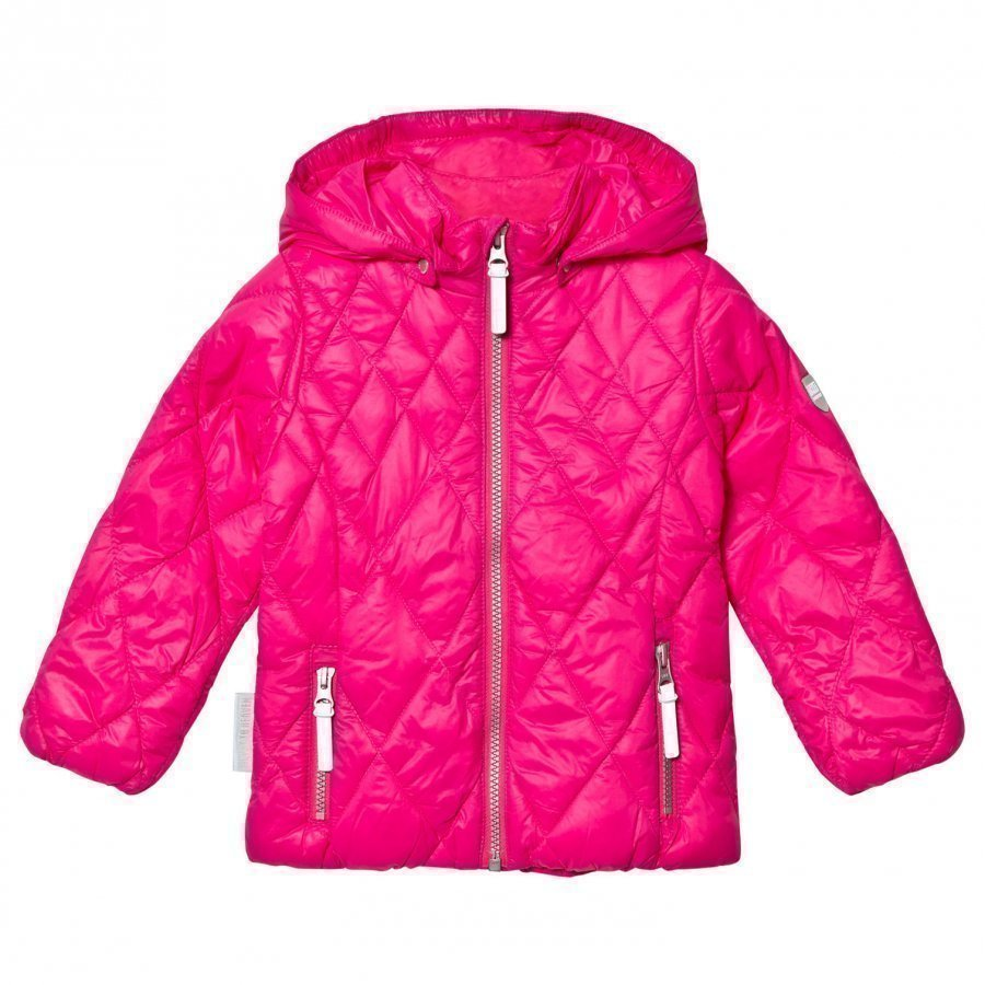 Ticket To Heaven Comerzo Padded Jacket Lightweight Magenta Pink Tikkitakki