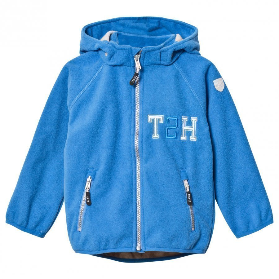 Ticket To Heaven Jacket Fleece Kristar French Blue Fleece Takki