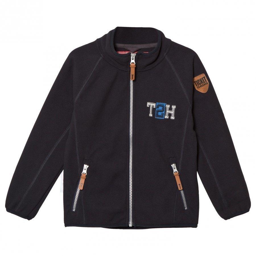Ticket To Heaven Jacket Fleece Matlas 1/1 Sleeves Total Eclipse Blue Fleece Takki