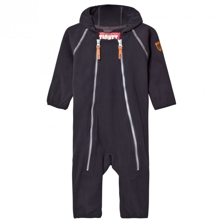 Ticket To Heaven Onesie Fleece Royce Total Eclipse Blue Fleece Haalarit