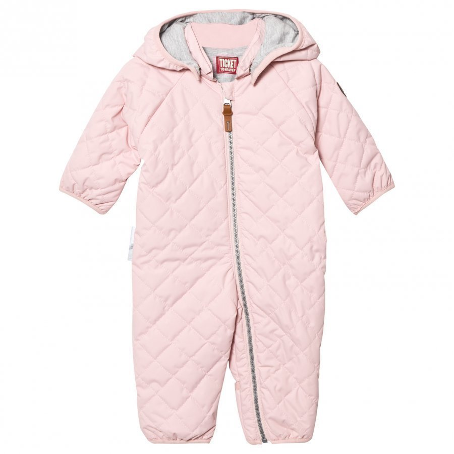 Ticket To Heaven Padded Coverall Peach Skin Rose Sadehaalari