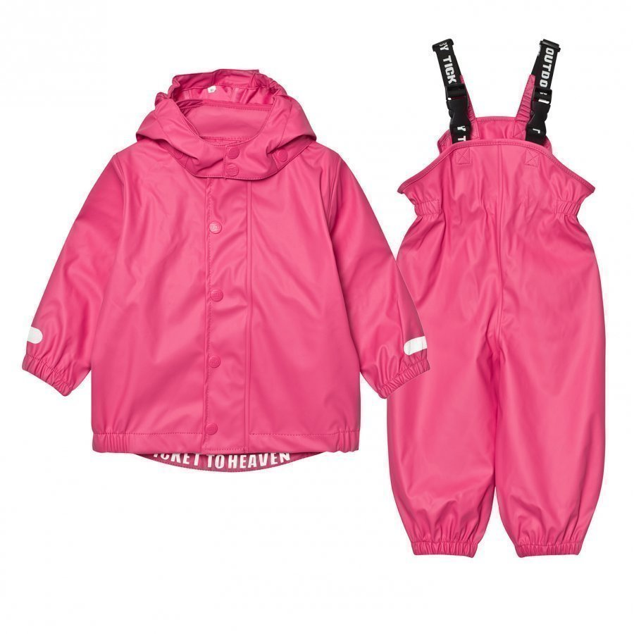 Ticket To Heaven Rubber Rain Set Magenta Pink Sadesetti
