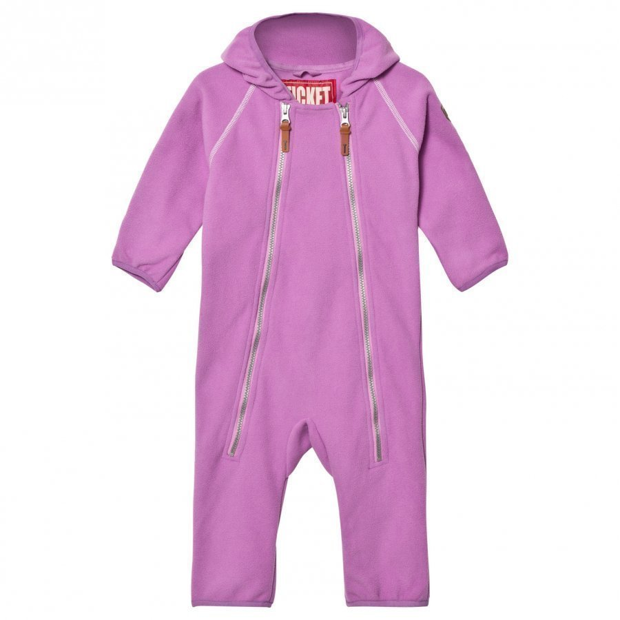 Ticket To Heaven Suit Fleece Royce Violet Rose Fleece Haalarit