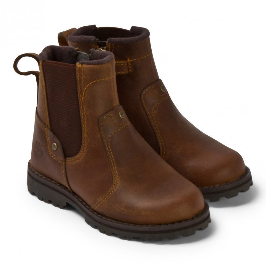 Timberland Brown Chelsea Mid Leather Boots Nilkkurit
