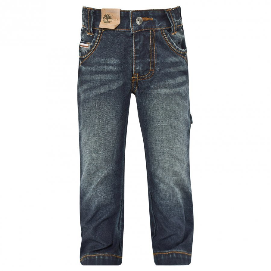 Timberland Denim Trousers Denim Blue Farkut