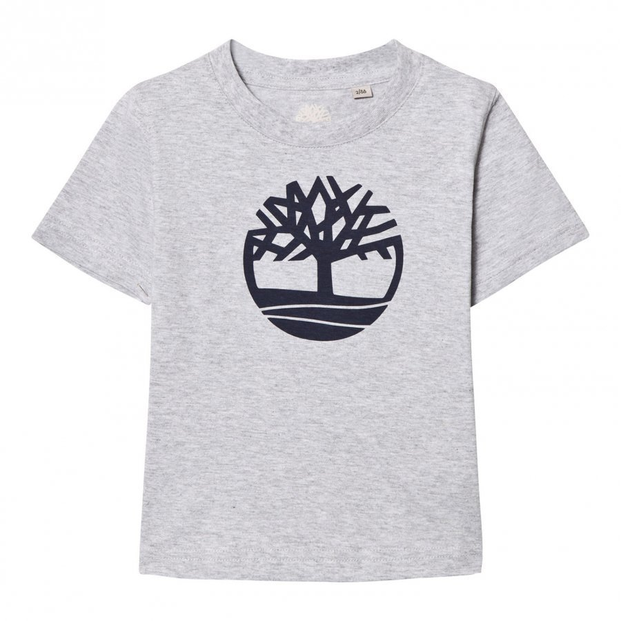 Timberland Grey Tree Branded Tee T-Paita