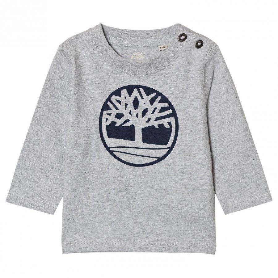 Timberland Grey Tree Logo Tee T-Paita
