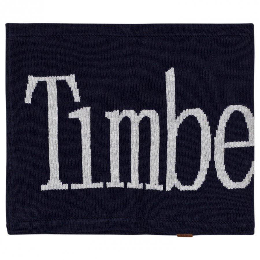 Timberland Navy Branded Snood Kietaisuhuivi