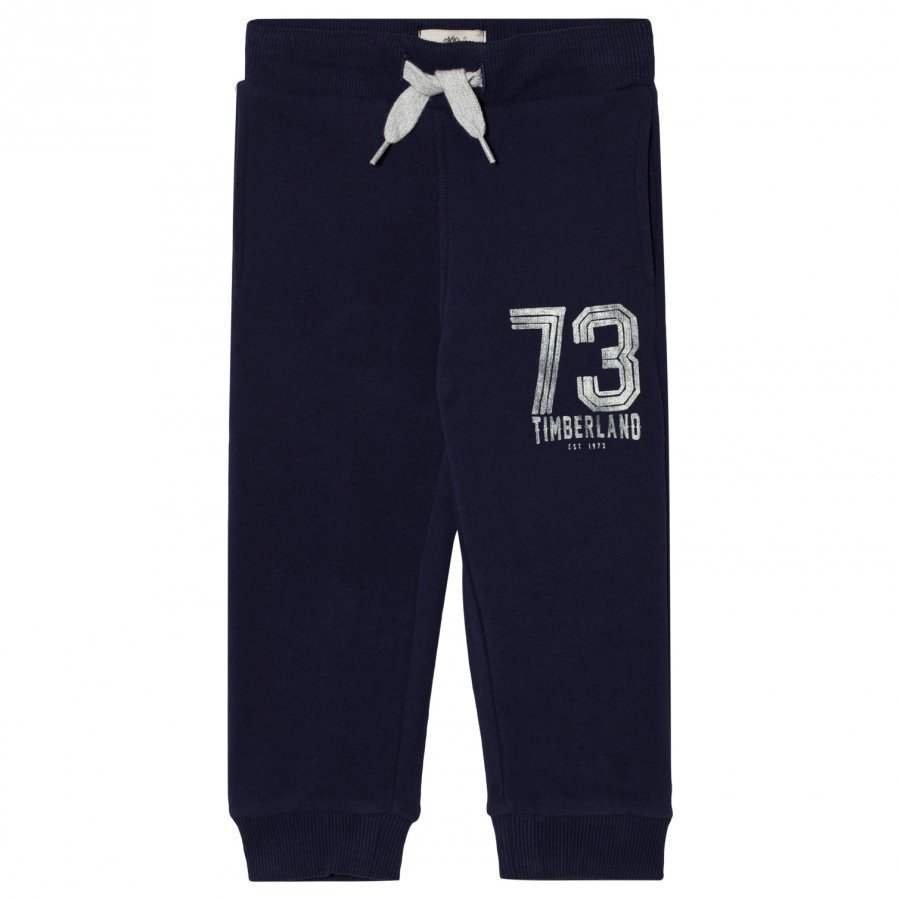 Timberland Navy Branded Sweat Pants Verryttelyhousut