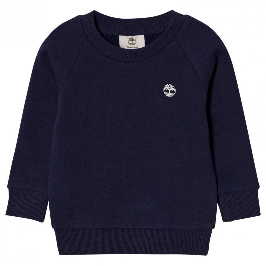 Timberland Navy Branded Sweatshirt Oloasun Paita