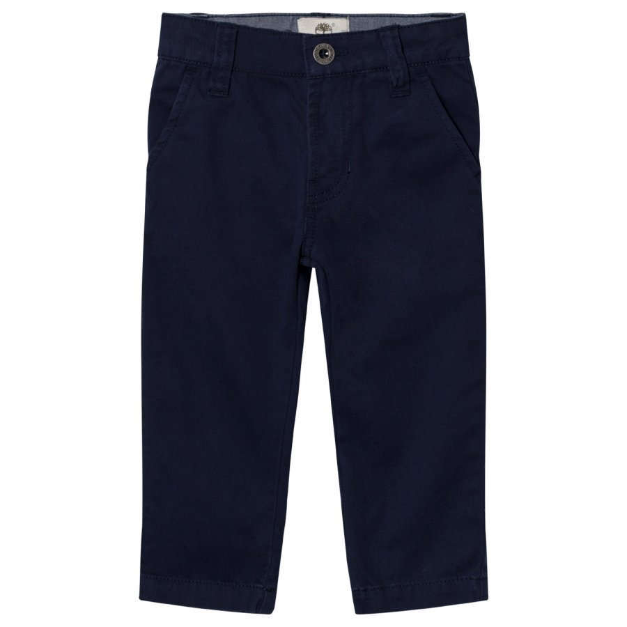 Timberland Navy Slim Fit Chinos Housut