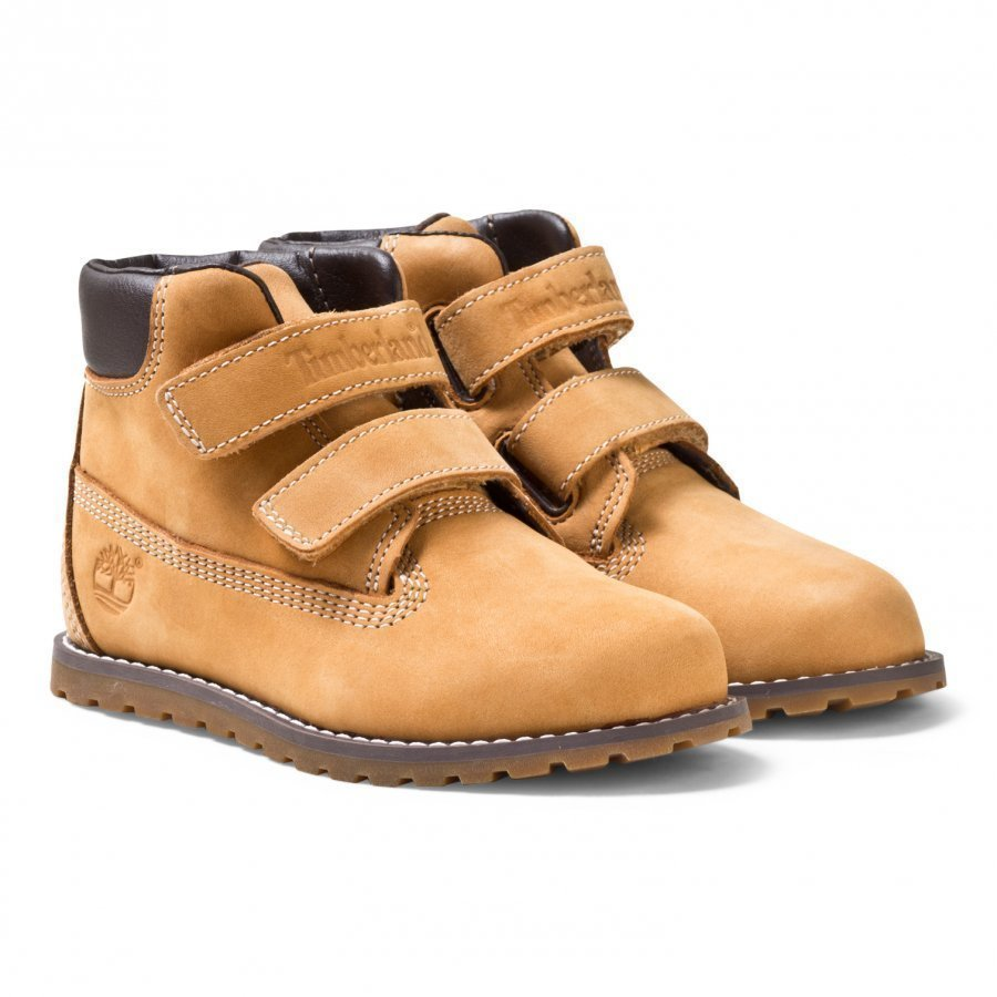 Timberland Pokey Pine Hook & Loop Wheat Nubuck Nilkkurit