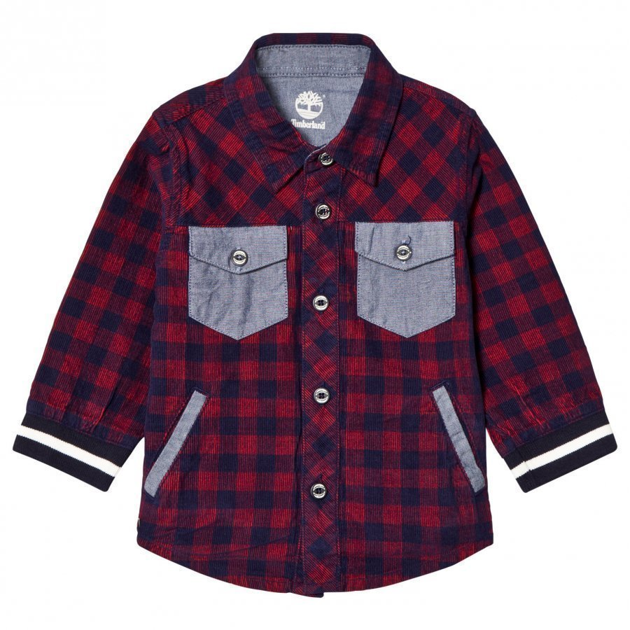 Timberland Red Check Shirt Kauluspaita