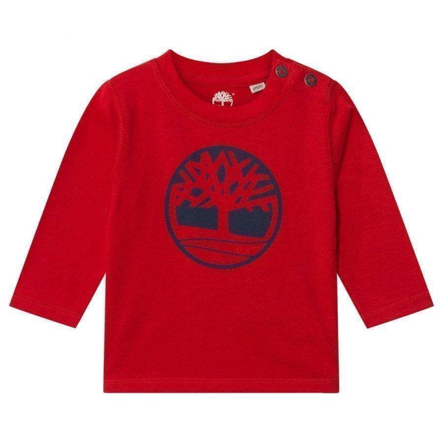 Timberland Red Tree Logo Tee T-Paita