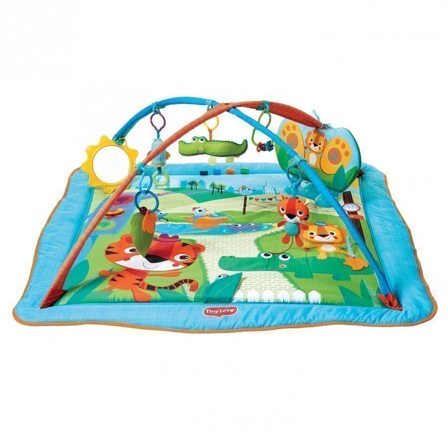 Tiny Love Gymini Kick & Play City Safari Baby Mat Leikkimatto