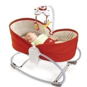 Tiny Love Sitteri 3 in 1 Rocker Napper Punainen