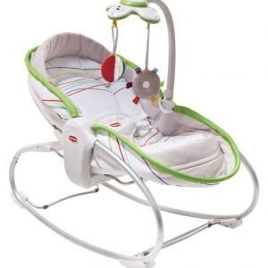 Tiny Love Sitteri 3 in 1 Rocker Napper Valkoinen/Lime