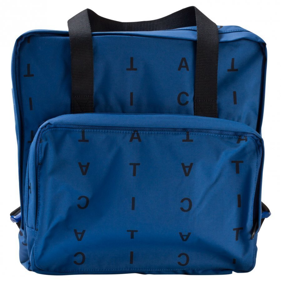 Tinycottons Alphabet Soup Backpack Blue/Dark Navy Reppu