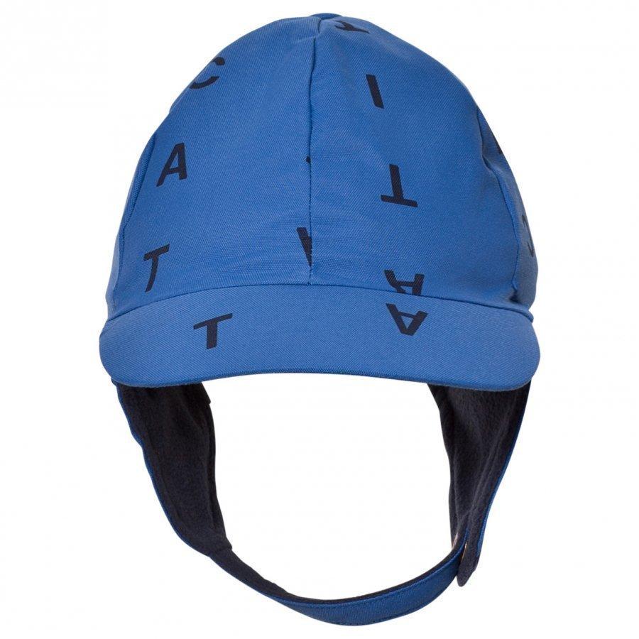Tinycottons Alphabet Soup Snow Hat Blue/Dark Navy Pipo