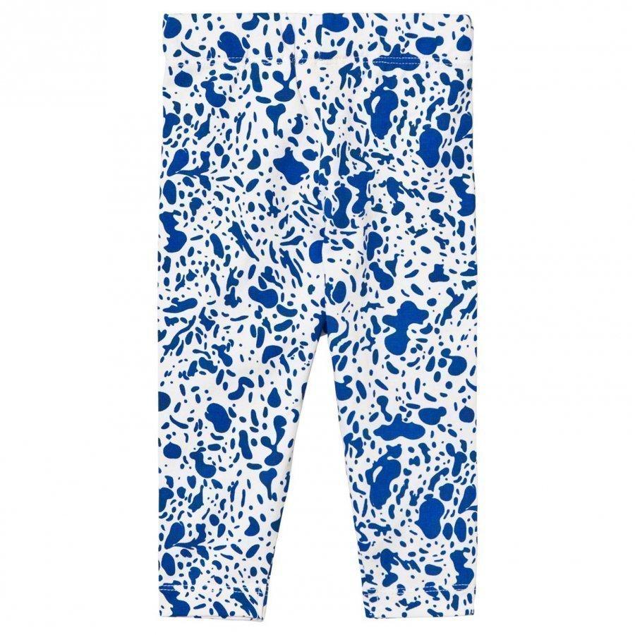 Tinycottons Enamel Pants Off White/Blue Legginsit