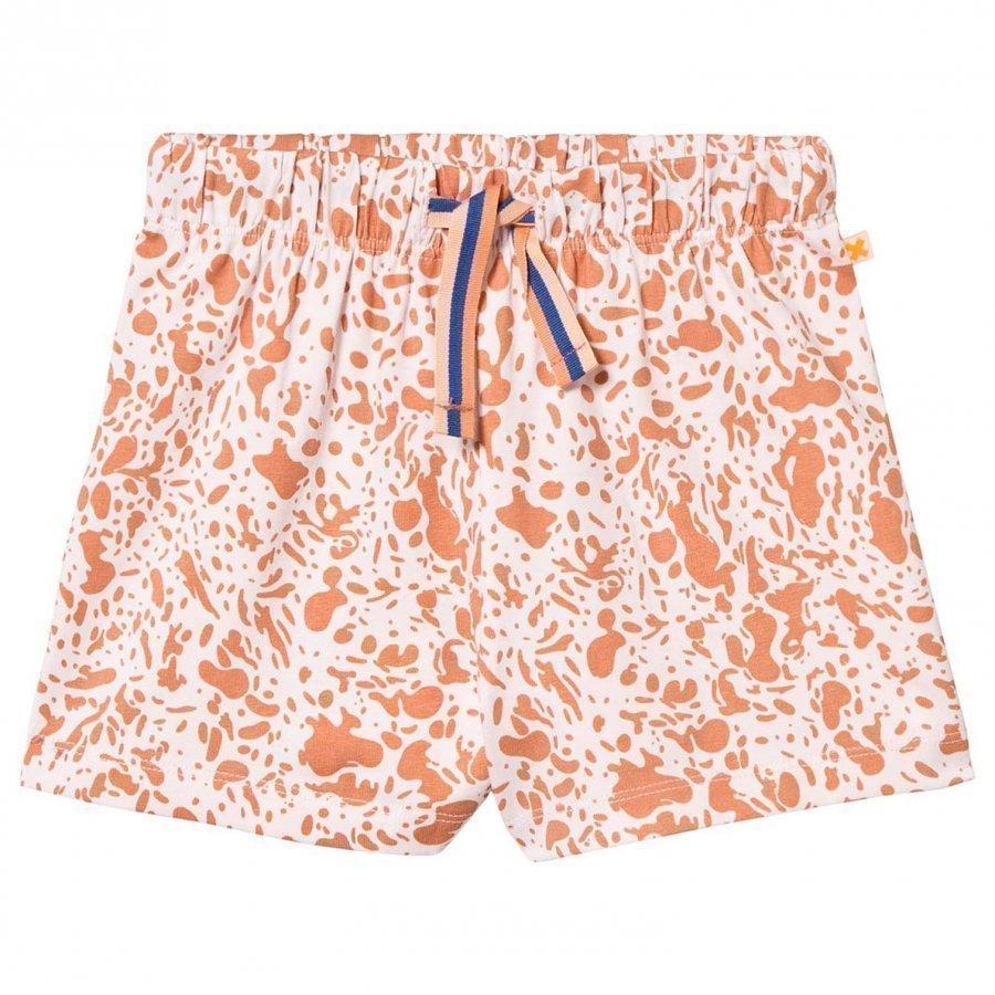 Tinycottons Enamel Shorts Pale Pink/Dark Peach Oloasun Shortsit