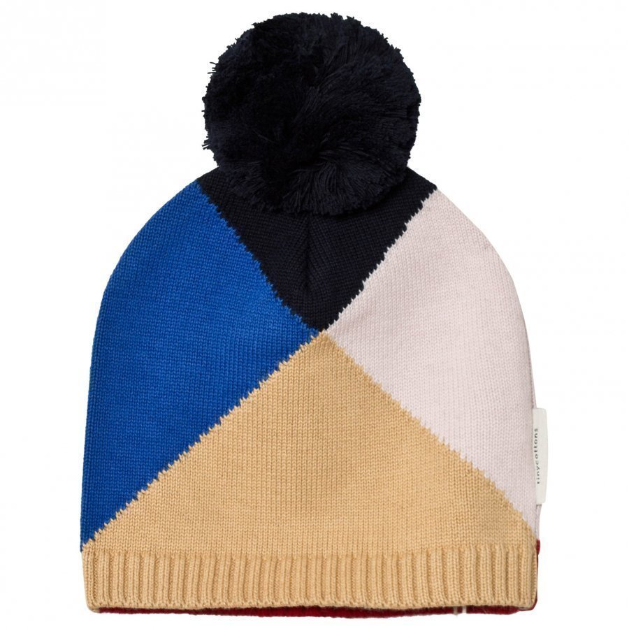 Tinycottons Geometric Beanie Nude/Light Pink/Blue/Dark Navy/Red Pipo