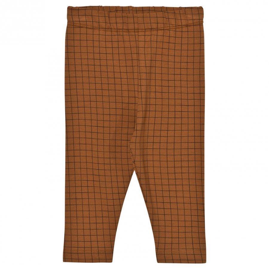 Tinycottons Grid Pant Brown/Black Legginsit