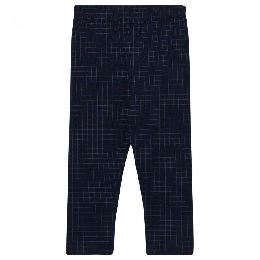 Tinycottons Grid Pant Dark Navy/Blue Legginsit