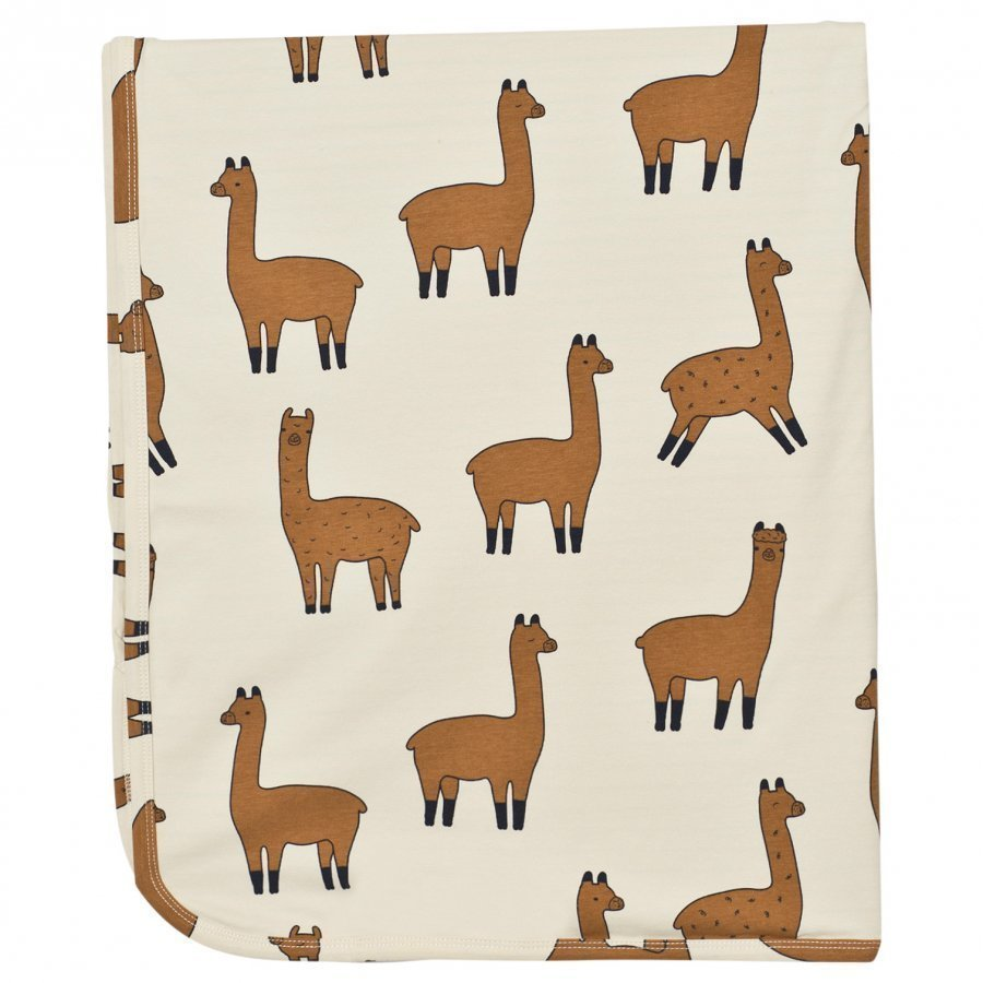 Tinycottons Llamas Blanket Beige/Nude Huopa