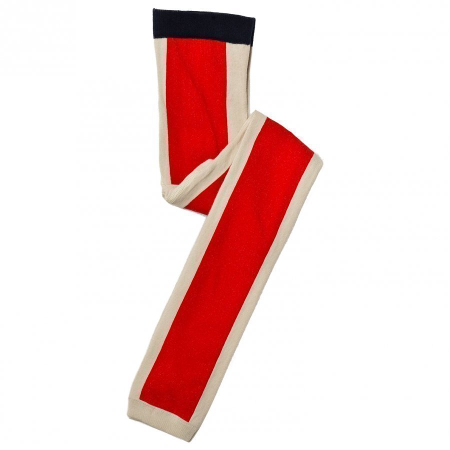 Tinycottons Long Line Leggings Beige/Red Legginsit