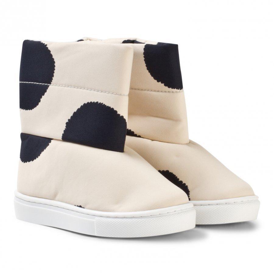Tinycottons Pom Poms Boots Beige/Black Talvisaappaat
