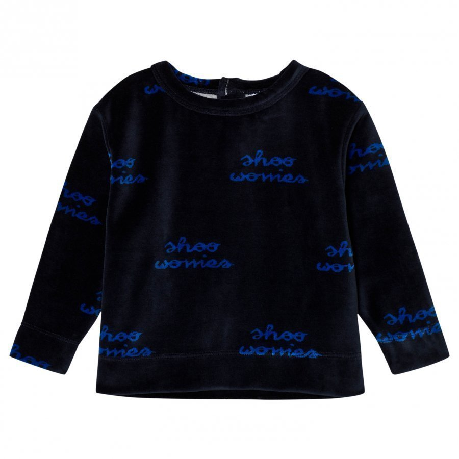 Tinycottons Shoo Worries Sweatshirt Dark Navy/Blue Oloasun Paita