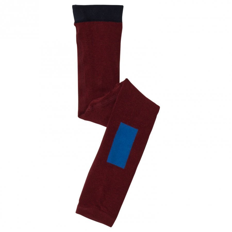Tinycottons Thick Line Leggings Bordeaux / Blue Legginsit