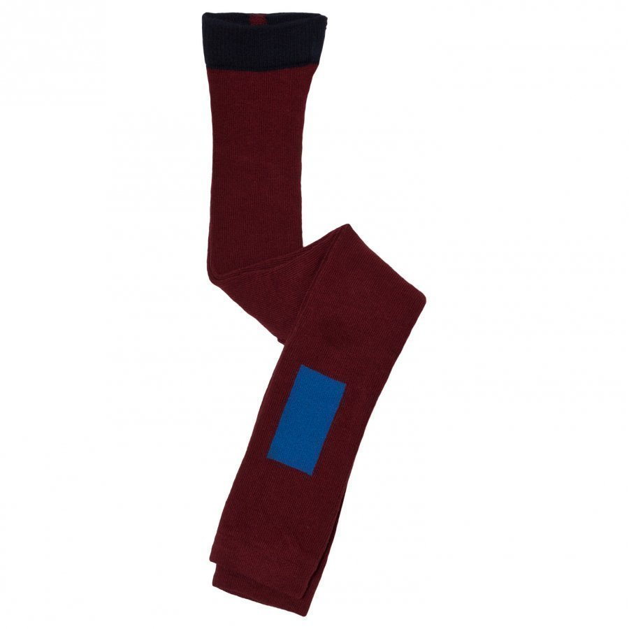 Tinycottons Thick Line Leggings Bordeaux/Blue Legginsit