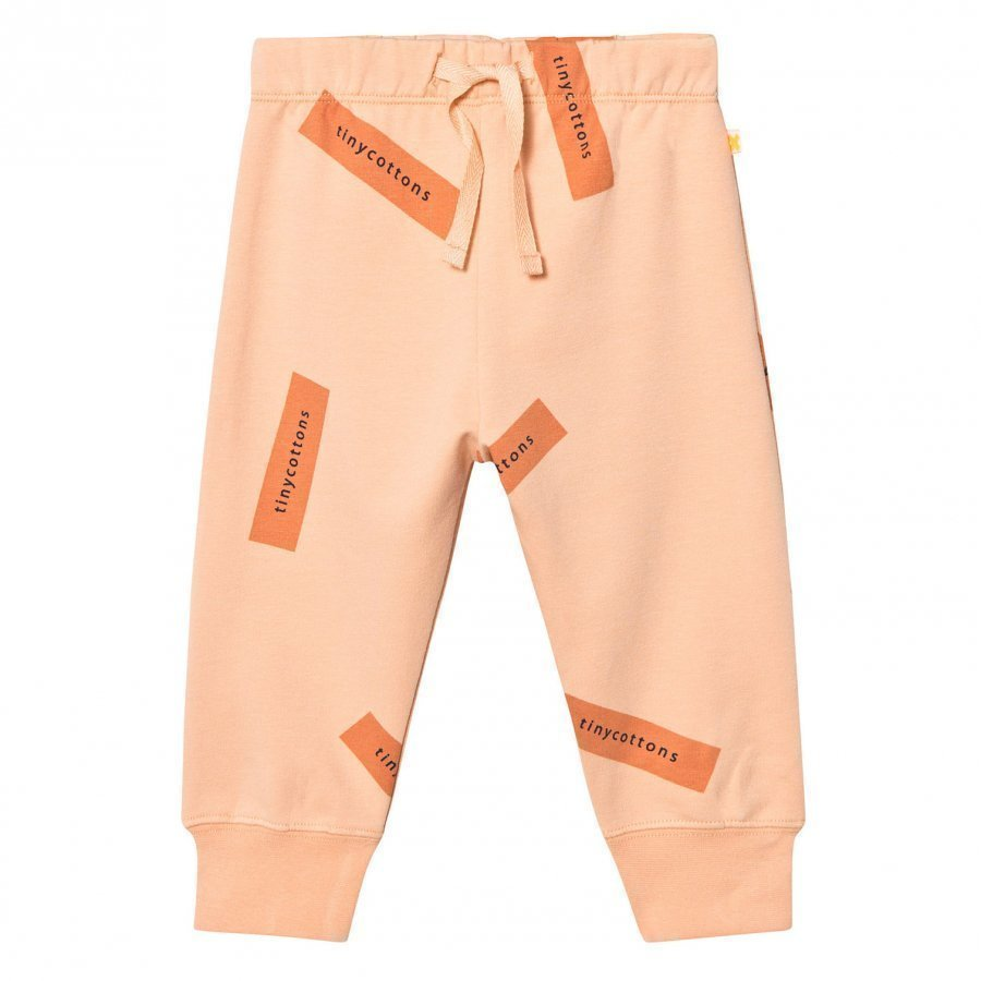 Tinycottons Tiny Logo Sweat Pants Nude/Dark Peach Verryttelyhousut