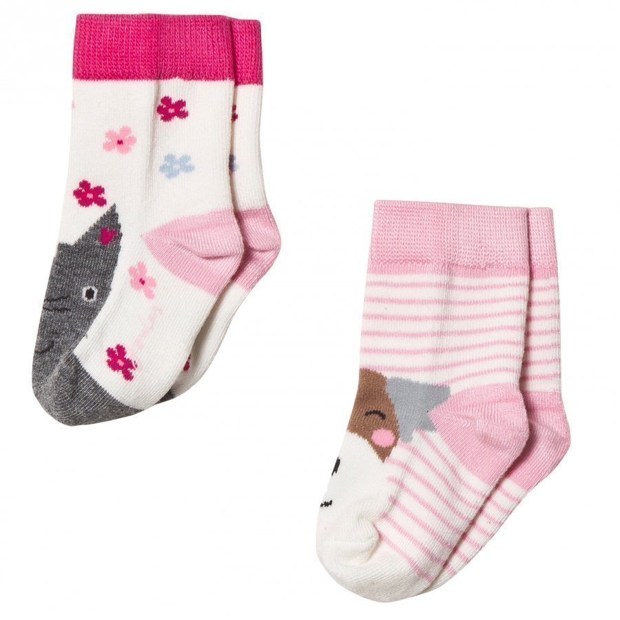 Tom Joule 2 Pack Cat Dog Socks Sukat