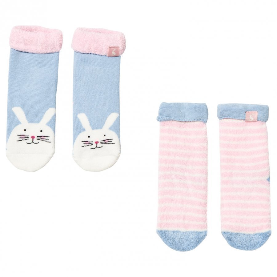 Tom Joule 2 Pack Of Bunny And Stripe Socks Sukat