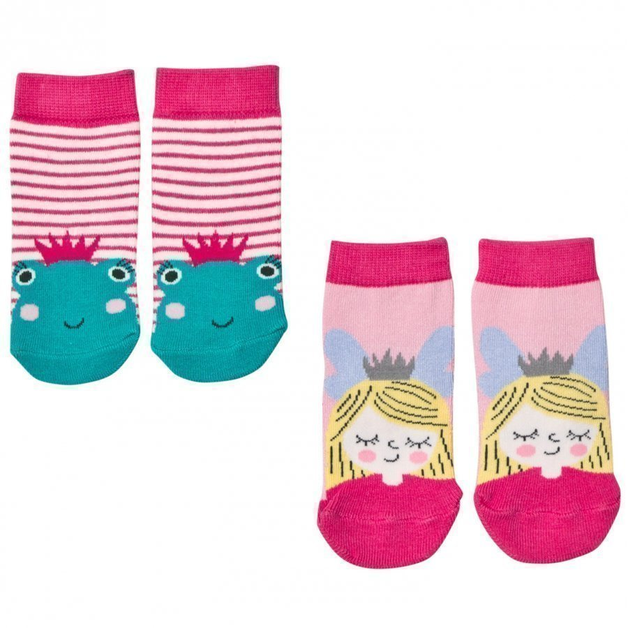 Tom Joule 2 Pack Princess/Frog Socks Sukat