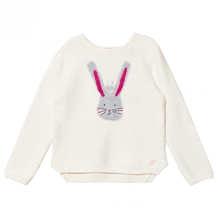 Tom Joule Cream Bunny Intarsia Knit Jumper Paita