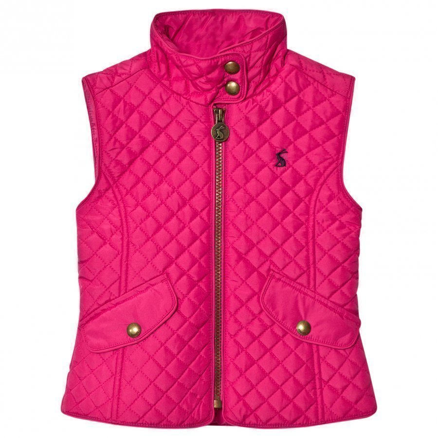 Tom Joule Fuchsia Quilted Vest Toppaliivi