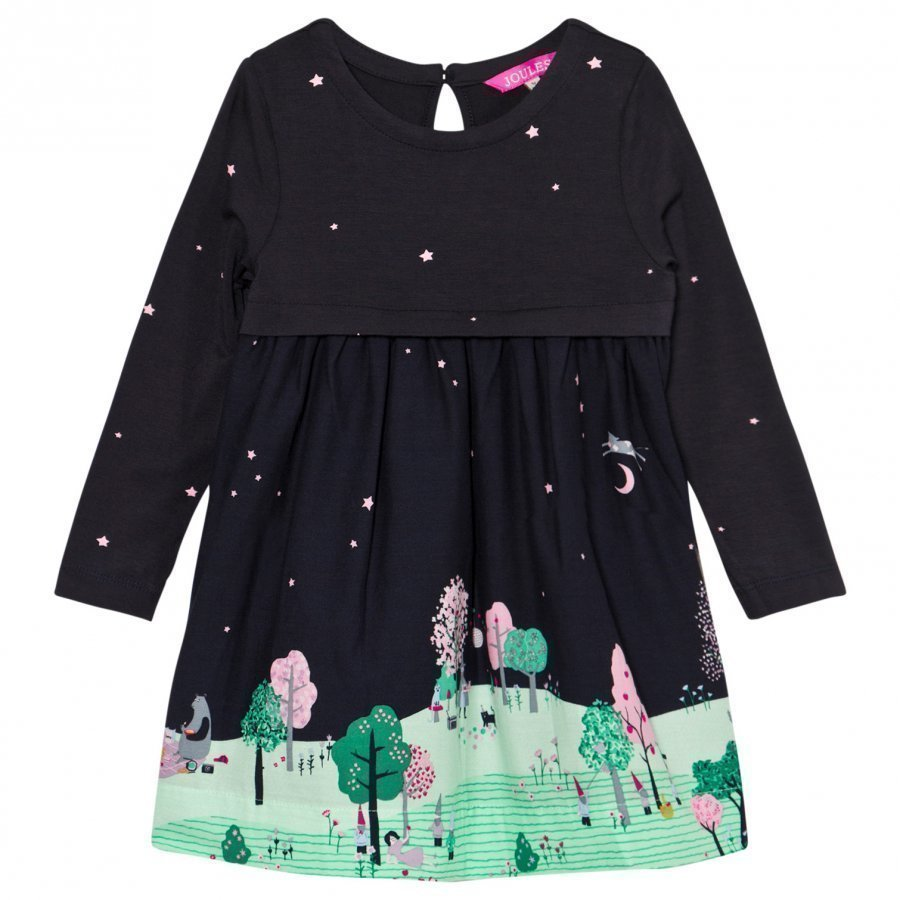 Tom Joule Merrie Countryside Scene Dress Juhlamekko
